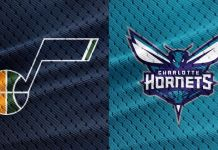Charlotte Hornets at Utah Jazz