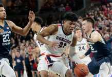 #2 Gonzaga Bulldogs at #23 BYU Cougars
