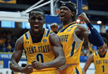 Kent State Golden Flashes at Ohio Bobcats