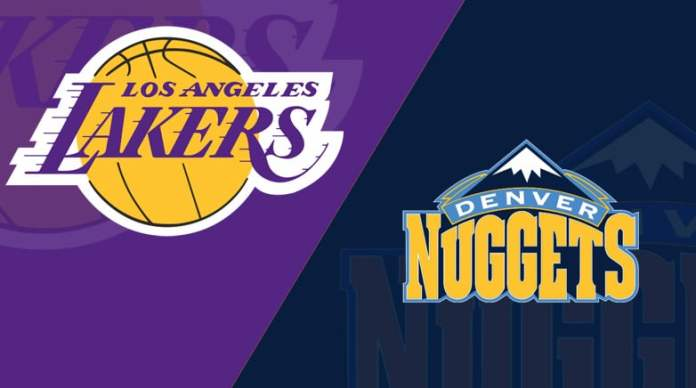 Los Angeles Lakers vs. Denver Nuggets