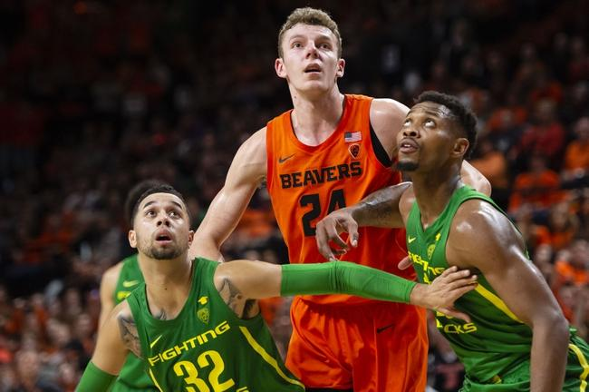 Oregon State Beavers at Oregon Ducks 02/27/20 Betting Pick & Prediction