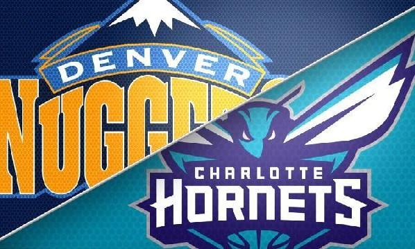 Denver Nuggets at Charlotte Hornets