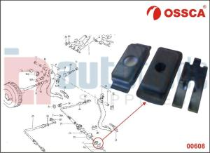 CLUTCH CABLE CLIP KIT (THIN)