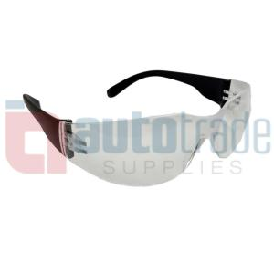 SAFETY GLASSES CLEAR 1PC
