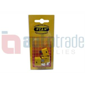 RYAN BLADE FUSE STD 20AMP 5PC