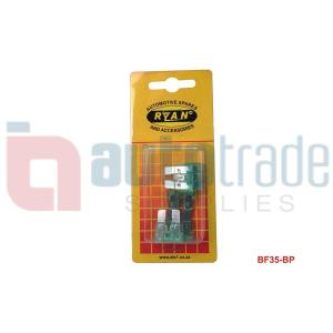 RYAN BLADE FUSE STD 35AMP 5PC