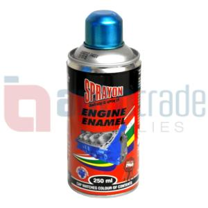 SPRAY PAINT ENGINE MET BLUE