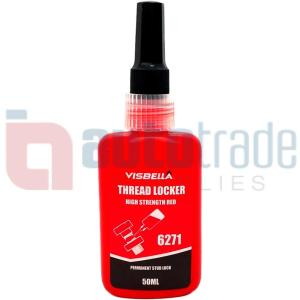 VISBELLA LOCK NUT RED   50ML