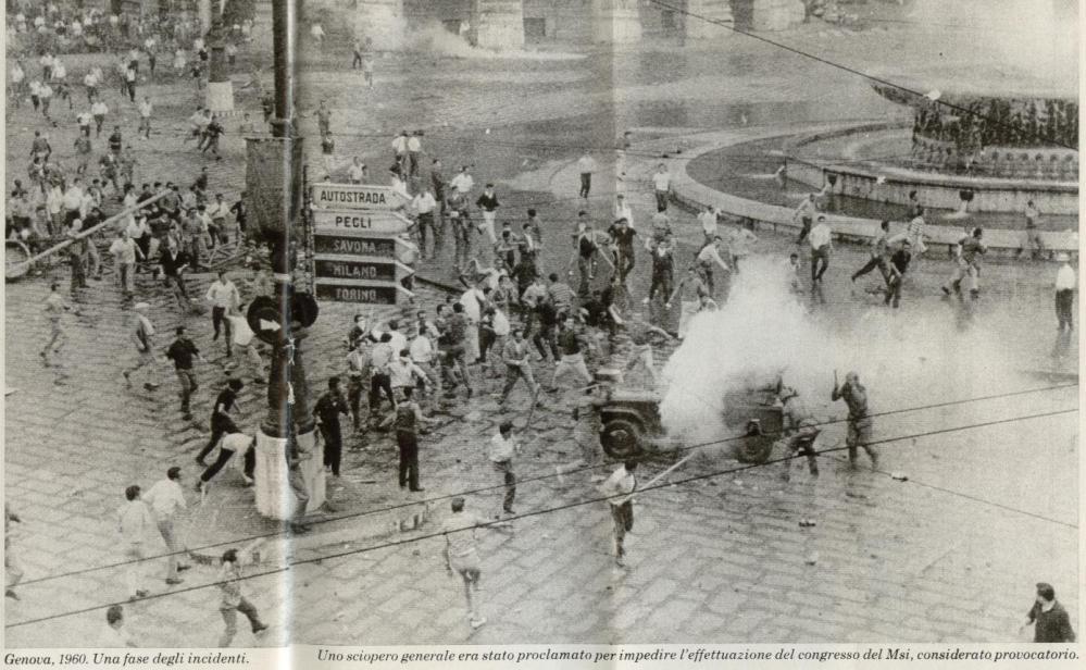30 giugno 1960 - le giornate di Genova - Pagine di Storia (3/5)