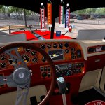 Modified Peterbilt 389 Interior V2 1 1 28 X Ats Mods American Truck Simulator Mods Atsmod Net