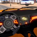 Jeep Grand Cherokee Srt8 Interior V2 0 By Taina95 1 30 X Ats Mods American Truck Simulator Mods Atsmod Net