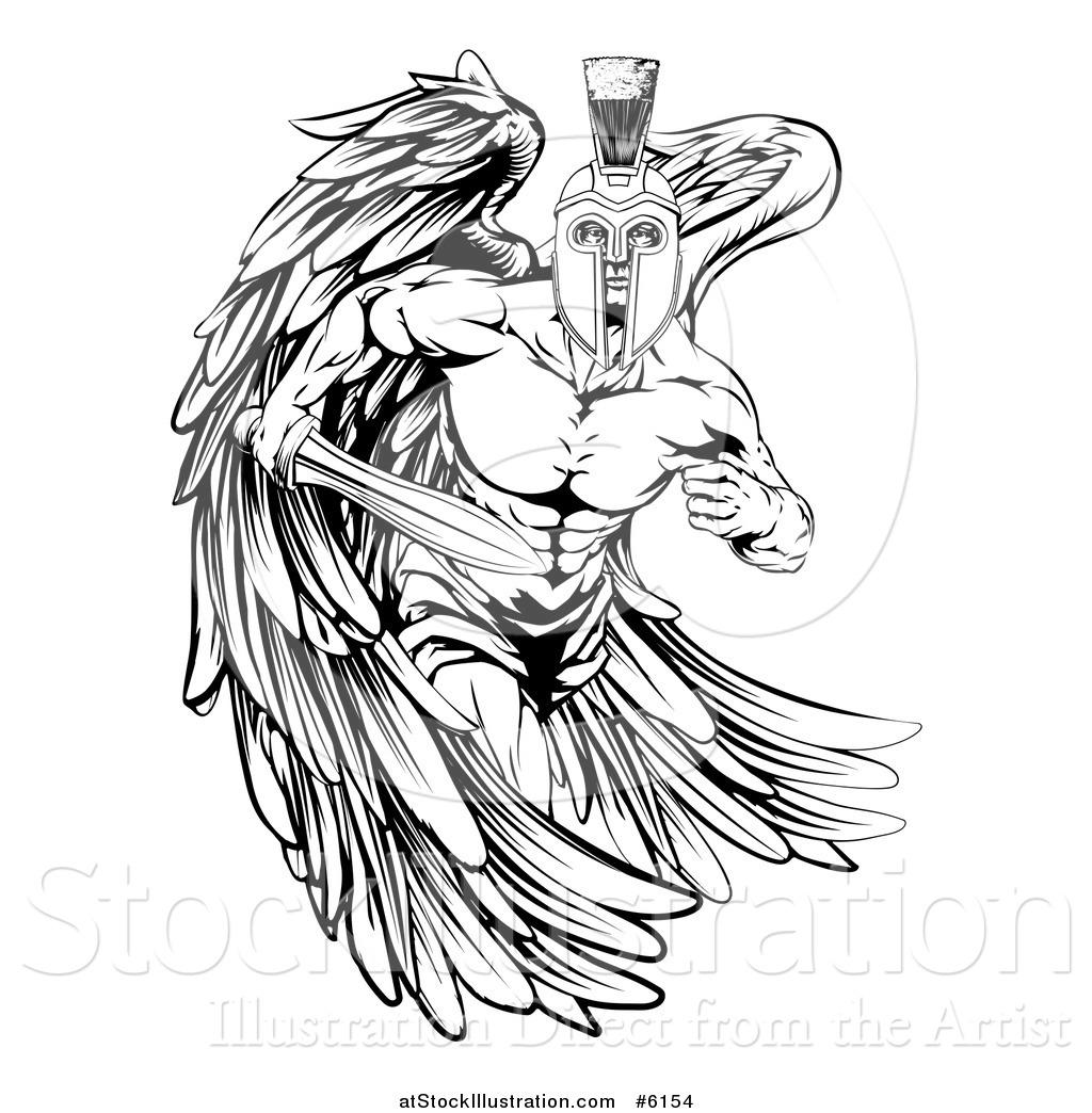 Female Warrior Angels