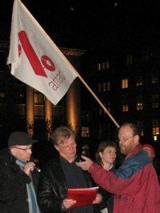 Einar flytur ræðu 30. nóv 2010