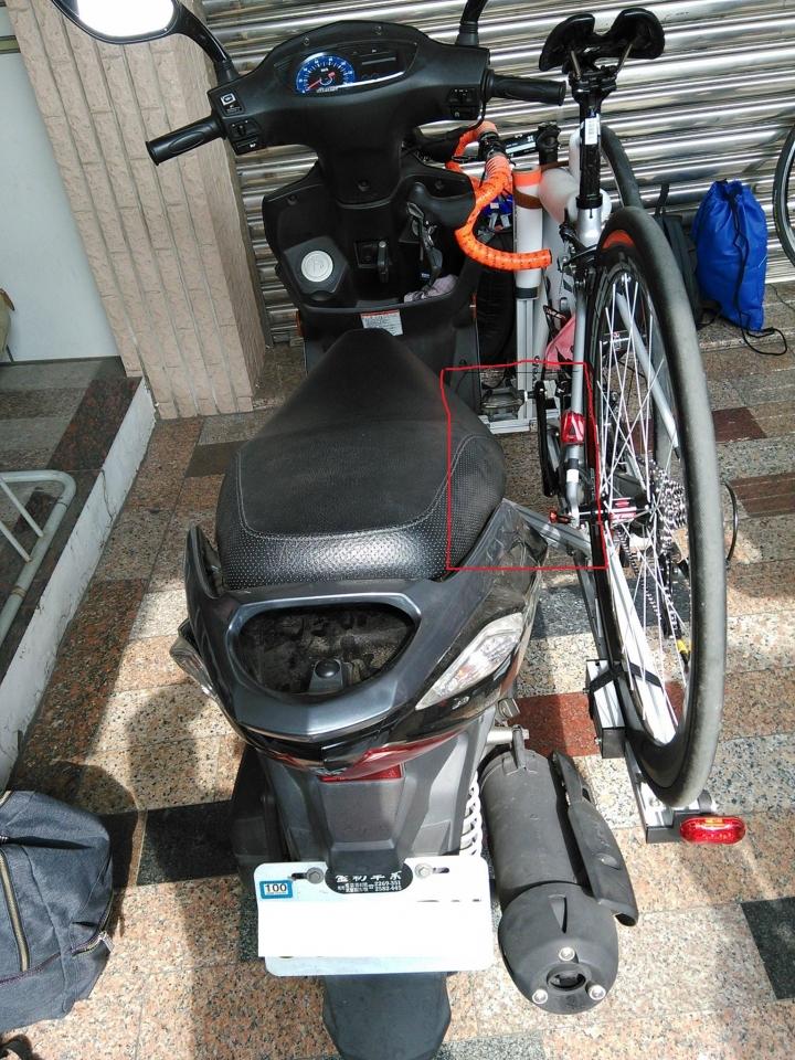 騎機車載單車..怎麼辦到的? (第3頁) - Mobile01