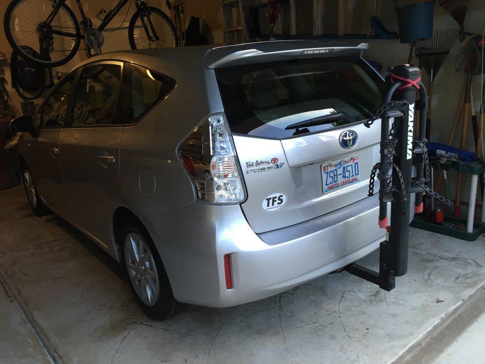 bike rack for prius v priuschat