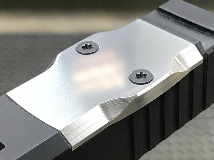 maple leaf firearms titanium rmr cover plates for glock pistol slides 1