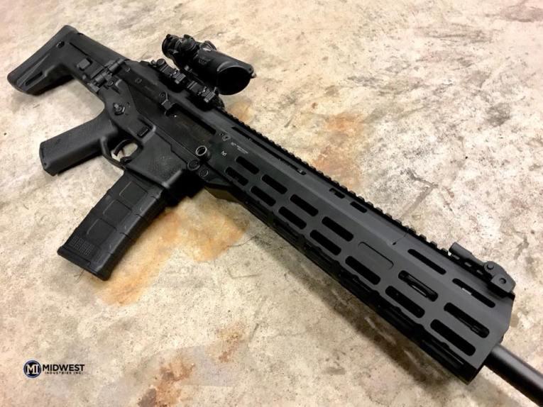 midwest industries Bushmaster ACR mlok handguards 1