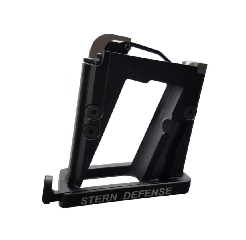stern defense ar15 magazine well adapter for pistol 9mm 40 sw mag-ad9 mag-admp9&40 3
