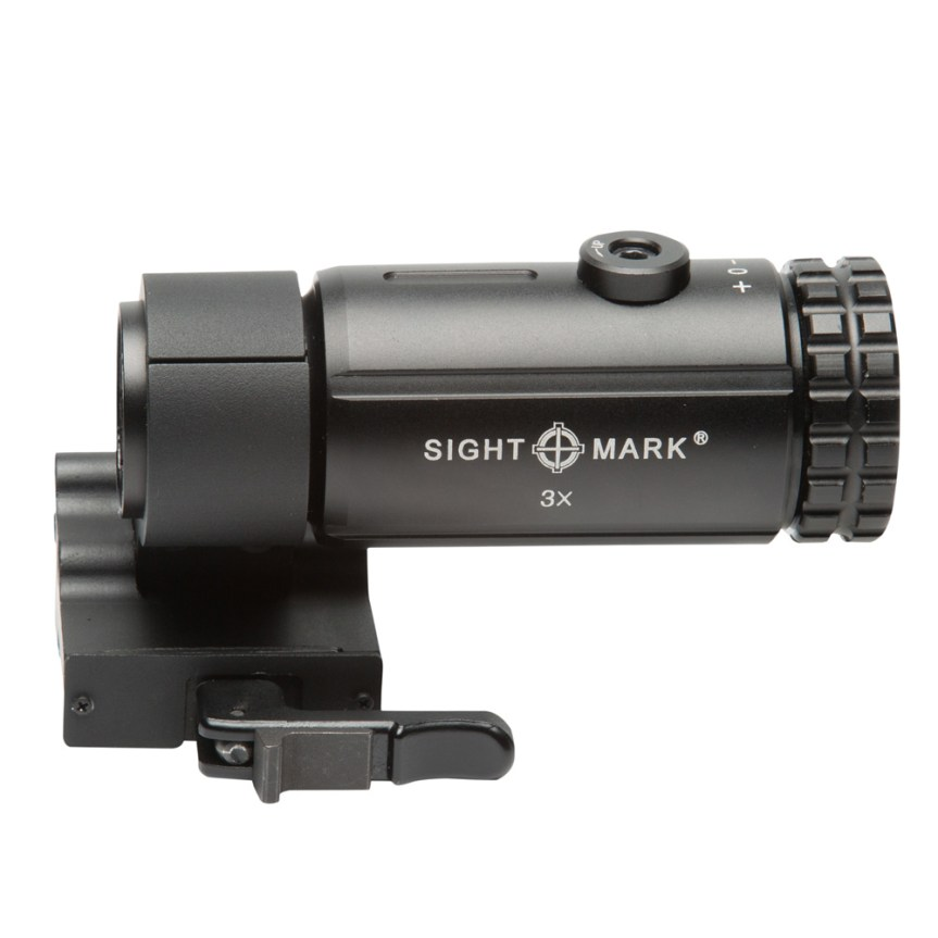 T-3 Magnifier with LQD Flip to Side Mount SM19063 9