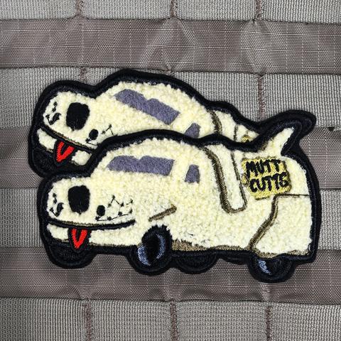 VIOLENT LITTLE MACHINE SHOP MUTT CUTTS VAN MORALE PATCH 2