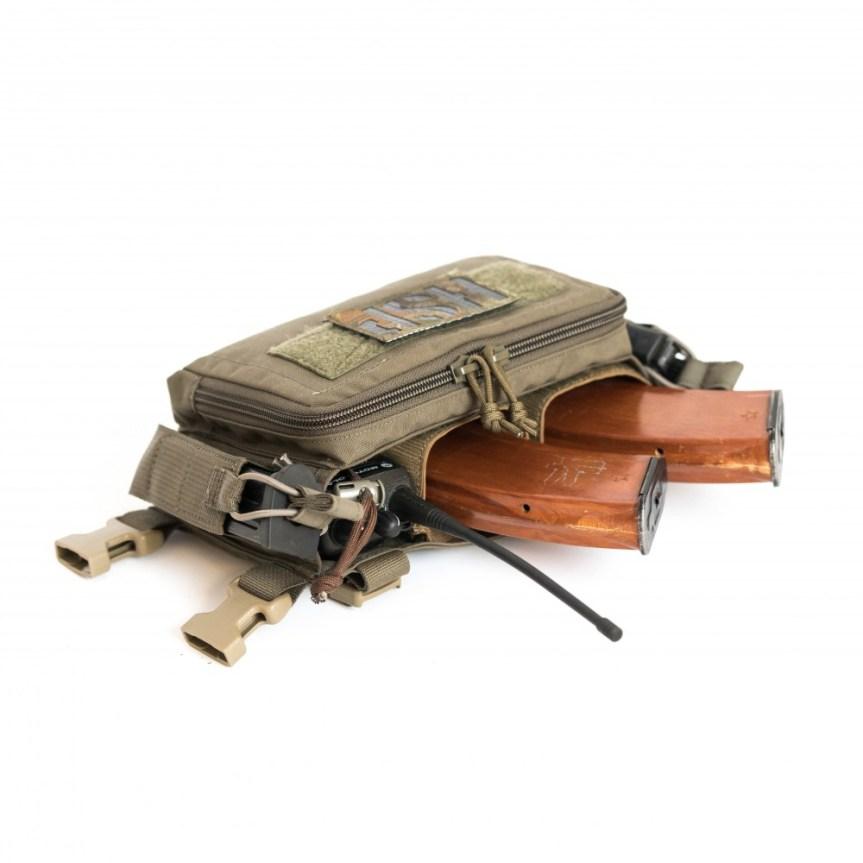 HALEY STRATEGIC D3CRM MICRO MODULAR CHEST RIG Disruptive Environments Chest Rig Micro 12