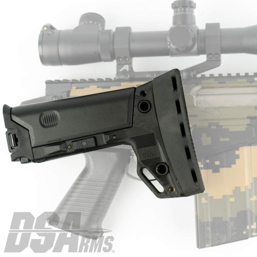 ds arms 090P-BRS-A SA58 FAL Fully Adjustable PARA B.R.S. - Battle Rifle Stock fal para stock conversion 9