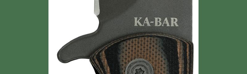 kabar model 3066 mark98 folder knife . flipper pocket knife . 6