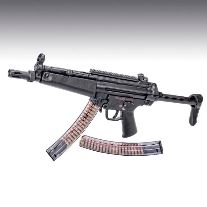 elite tactical systems mp5 magazine HKMP5-40 high capacity clear magazines 5