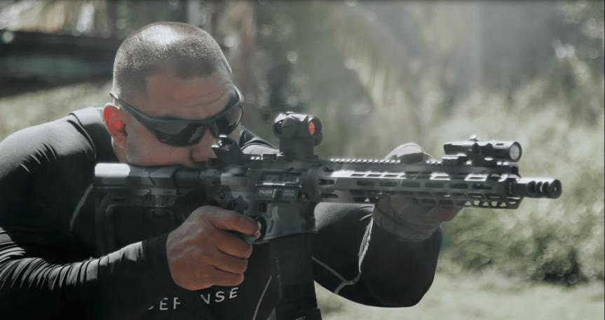 falkor defense the standard rifle ar15 223 wild black rifle 3