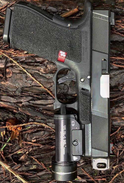 mayhem sydicate carry compensator system glock compensator for carrying a pistol small glock comp glock 19 custom glock 17 glock 26 gen 5 glock 8