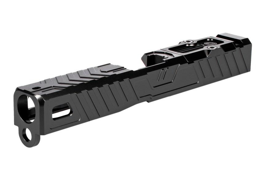 zev techonolgies glock slide. Raven glock slide. custom glock slide. slide serrations. 9
