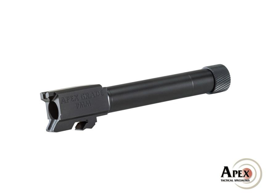 apex tactical sw mp m2.0 threaded barrel tactical 9mm barrel ccw pistol 1