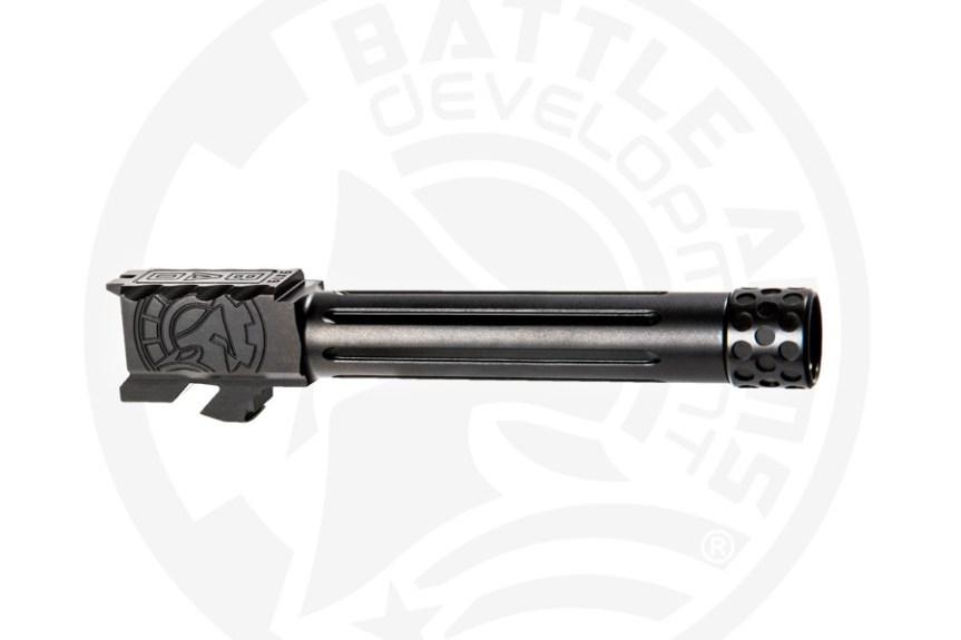 battle arms development one 1 glock barrel. custom glock barrel threaded glock barrel BAD-BBLG19SSFT 6