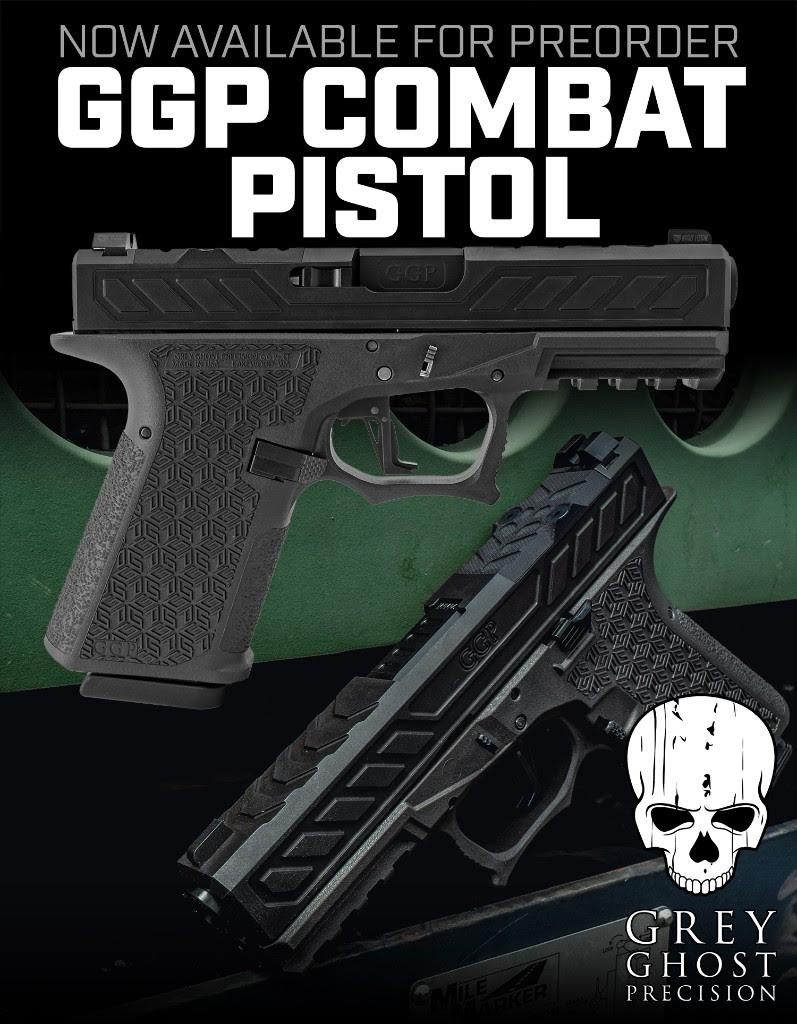 grey ghost precision ggp-cp compact pistol custom glock gucci glock tactical pistol 5