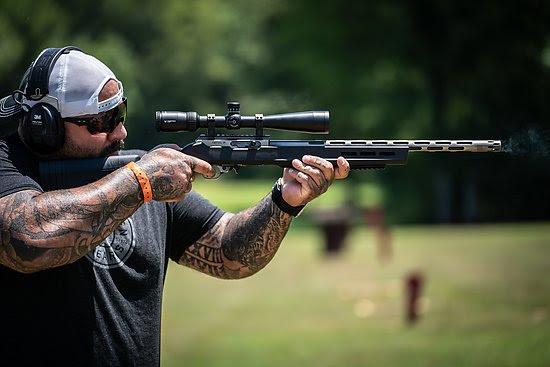 volquartsen battle worn rifle 22lr target rifle sniper 22lr 5