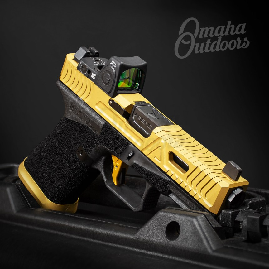 agency arms cipher slides glock 19 cipher cypher glock omaha outdoors custom glock cipher gen 3 glock attackcopter G19-G3-CIPHER-GOLD-RM06 G19-G3-CIPHER 4