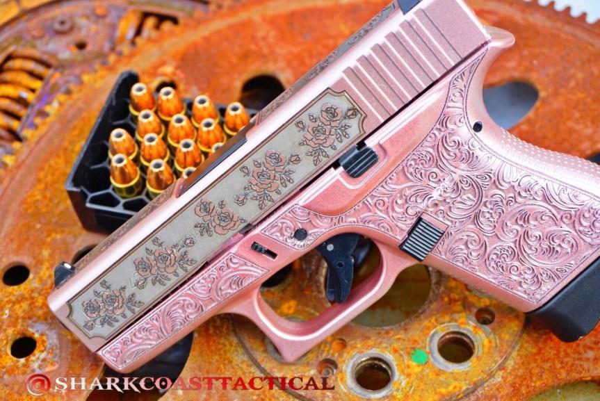Shark coast tatical pink glock n roses girly glock pink gun pink pistol  pink rifle princess pistol  attackcopter  1.jpg