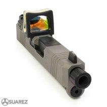 suarez international SUPERMATCH SI-43 RMR SLIDE gun blog firearm blog attackcopter ar15 glock 43 rmr cut 13