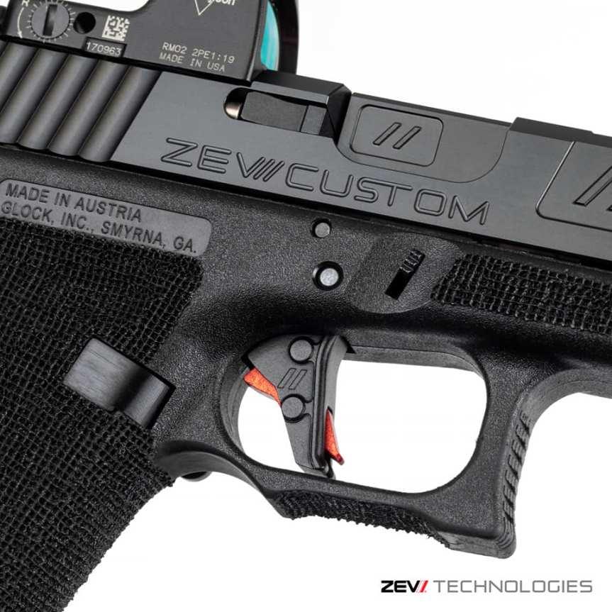 zev technologies flat trigger glock flat trigger gen 5 trigger attackcopter gunblog firearmblog zev tactical 40sw 9mm a