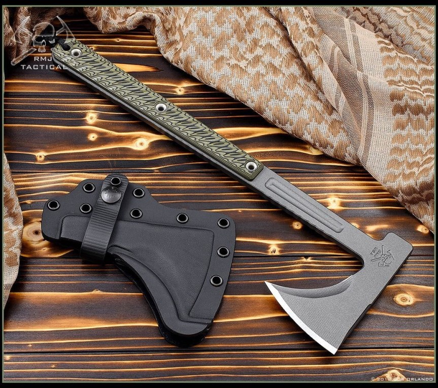 rmj tactical kestrel trail light tomahawk for bushcrafting axe to cut timber for camp 1.jpg