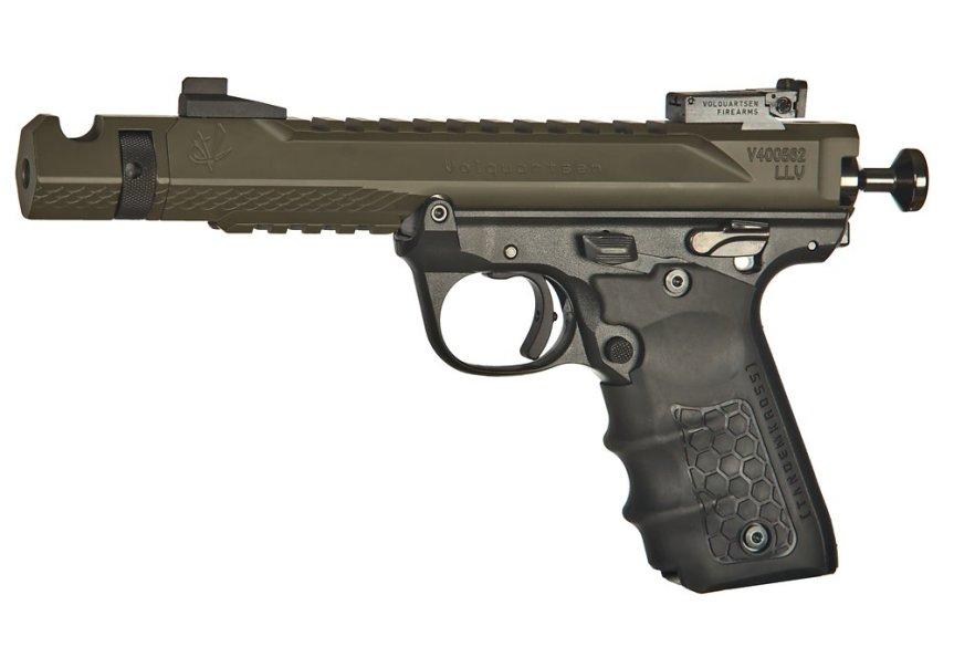 volquartsen firearms black mamba target pistol mkiv 22 45 tactical targit pistol custom build 5