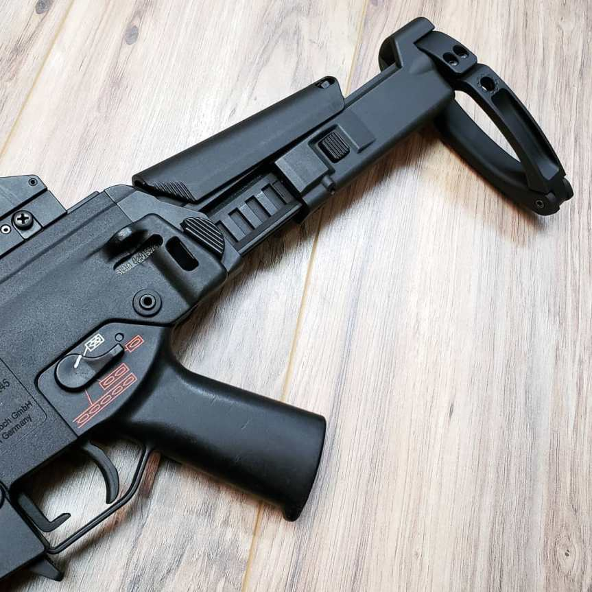 Dan Haga Designs Shows Support For The Hk G36 With New Bushmaster Acr Stock Adapter Attackcopter