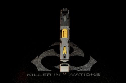 Killer innovations velocity glock slide glock 19 custom glock slide glock19 gen3 custom slide work rmr cut 2