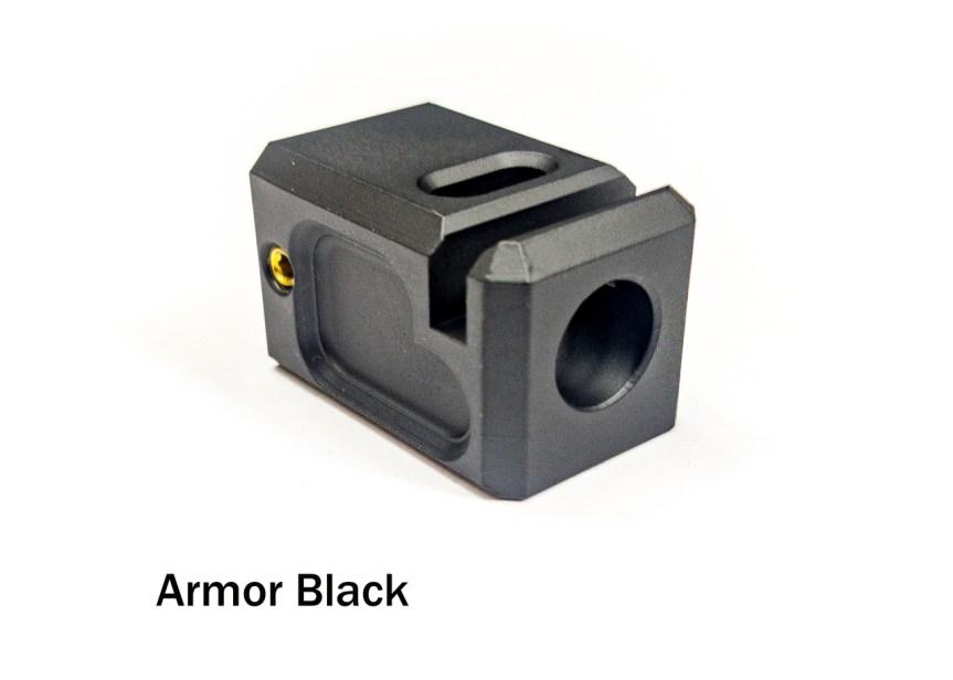 legion precision pistol compensator 9mm pistol comp glock comp that fits tight to the slide 1.jpg