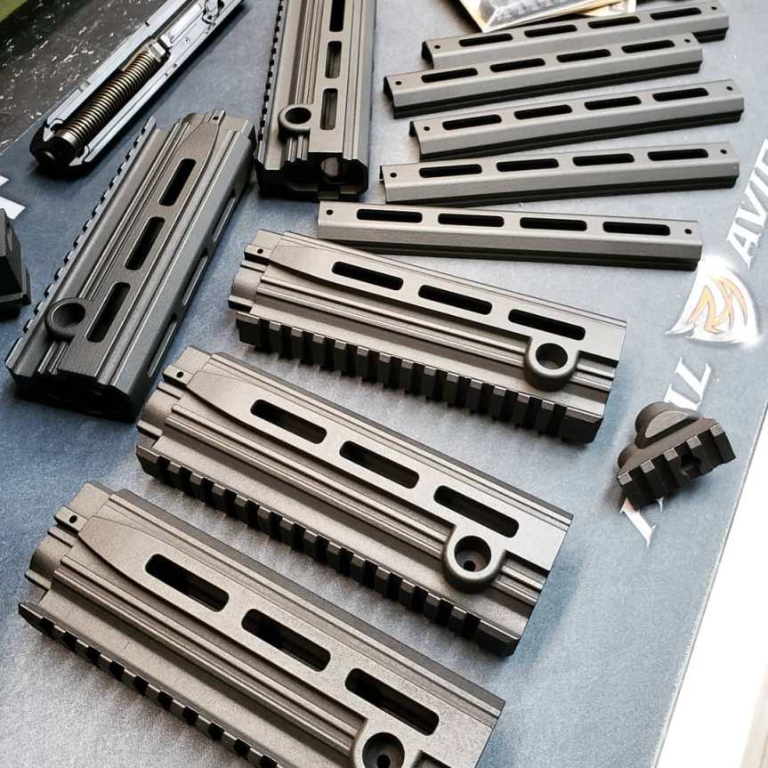 dan haga designs cmr-30 extended handguard for the cmr30 longer rail sbr cmr keltec  2.jpg