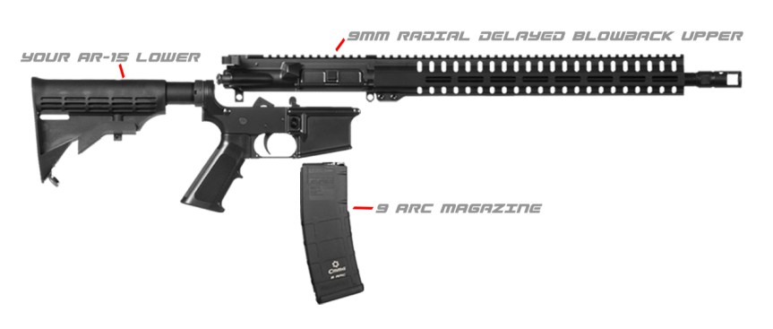 CMMG 9 arc magazines ar15 9mm conversion to shoot 9mm through your ar-15  2.jpg