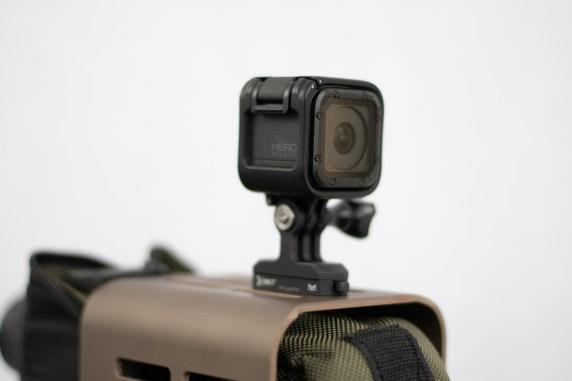 kinetic development grou Kinetic M-LOK QD Go Pro mount for mlok rifle camera