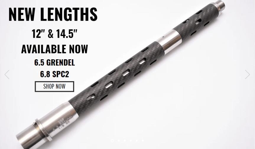 bsf barrels 6.8 spc II carbon fiber 6.5 grendel barrel the lightest ar10 and ultra light ar15 builds  1.png