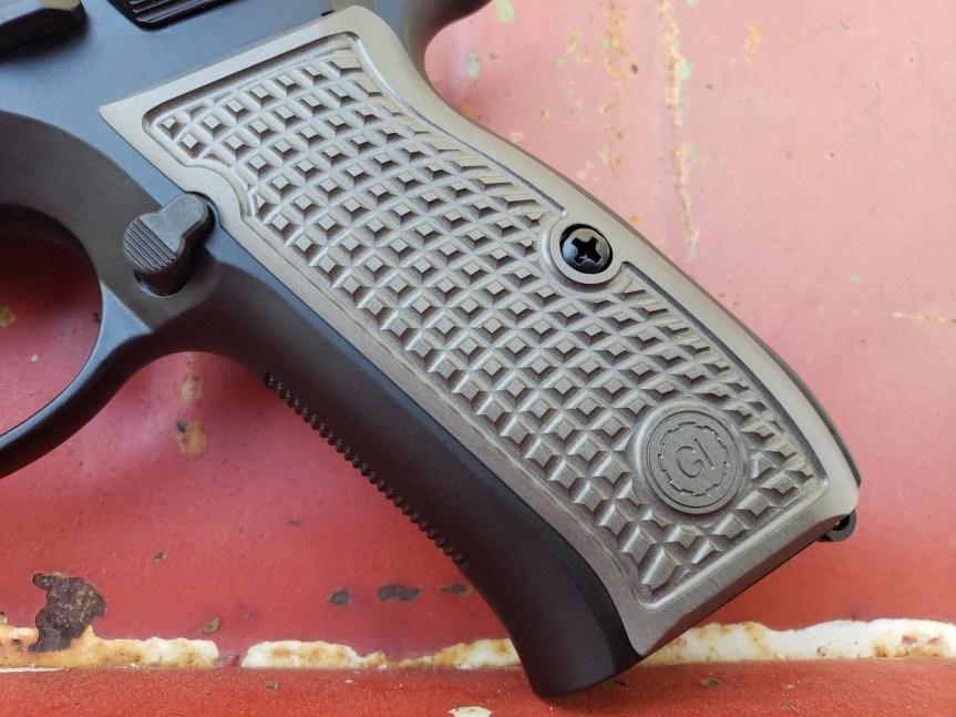 guncrafter industries cz-75 frag grips billet aluminum grips 4