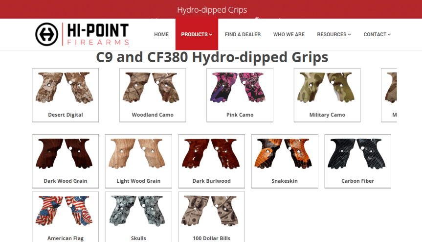 hi-point firearms custom grips for hi-point glock fouwty mansfield glock  1.png